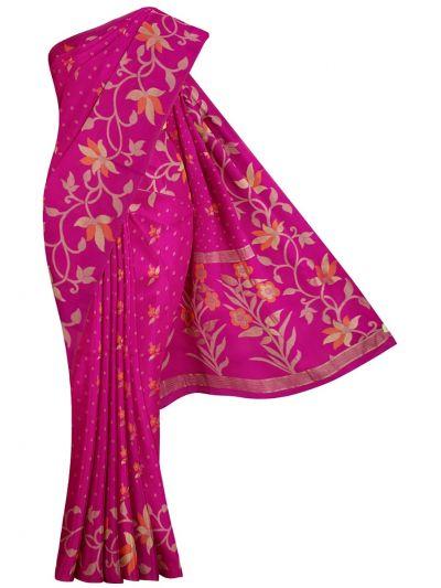 MJC7914965-Yuvathi Jute Cotton Saree