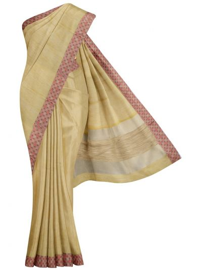 MJD8308954-Fancy Semi Jute Saree with Readymade Blouse