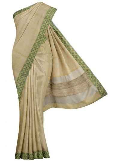 MJD8308959-Fancy Semi Jute Saree with Readymade Blouse