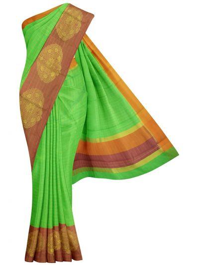 MJD8420143-Kyathi Fancy Thaju weaving Saree