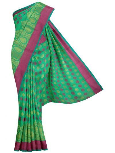 MJD8420144-Kyathi Fancy Thaju weaving Saree