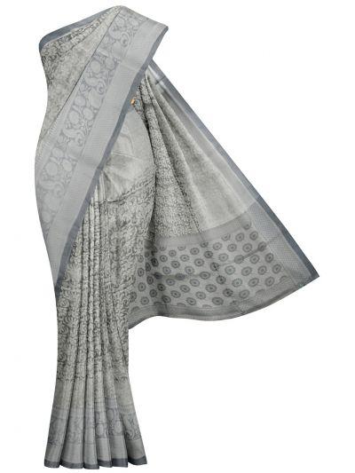 MKA8701818-Kathana Fancy Tissue Banarasi Weaving Saree