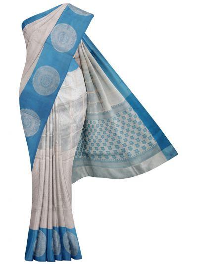 MKA8701838-Kathana Fancy Tissue Banarasi Weaving Saree
