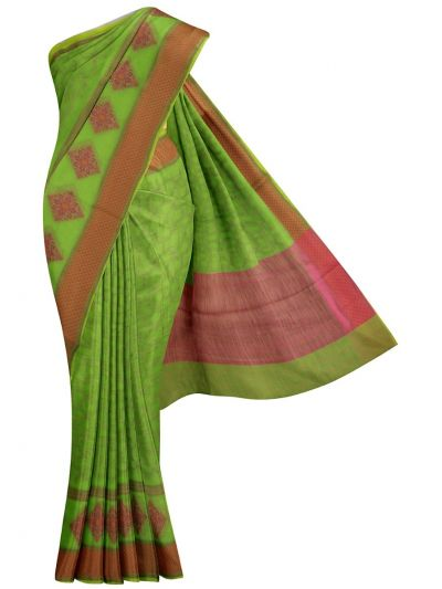 MKA8734057-Jalathi Fancy Netted Manipuri Cotton Saree