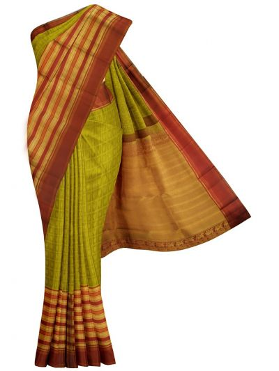 MKB9130111-Vivaha Wedding Handloom Silk Saree