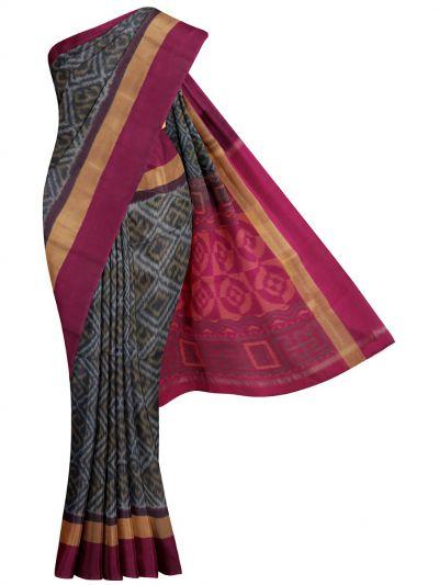 MKB9272474-Chamelli Pochampally Design Silk Cotton Saree