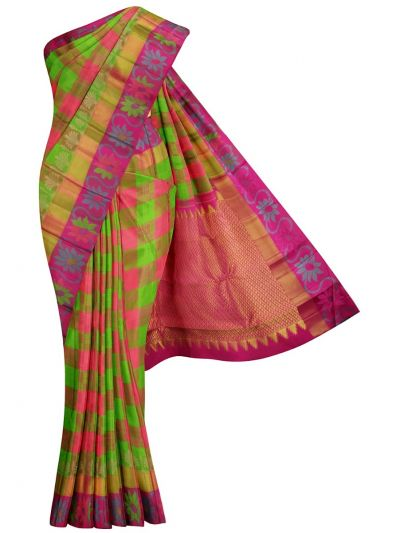 MKB9386229-Estrila Wedding Handloom Silk Saree