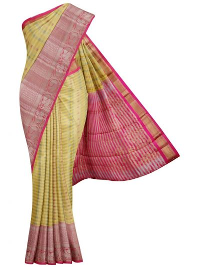 MKC9541037-Vipanji Traditional Silk Saree