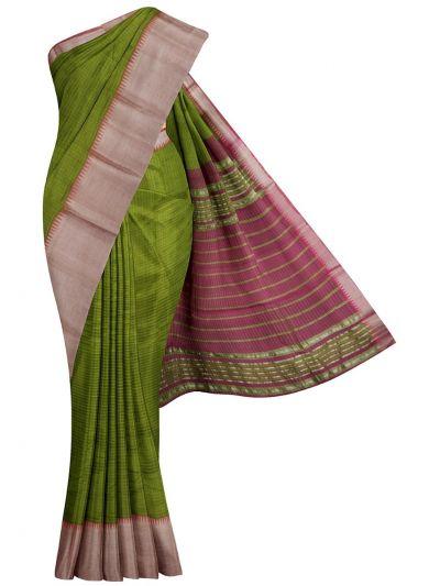 MKC9663387-Chamelli Mangalagiri Silk Cotton Saree