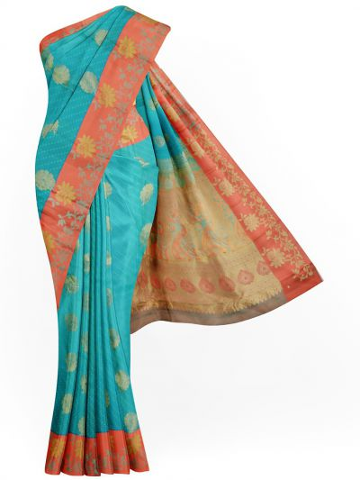 MKD0206299-Vipanji Traditional Silk Saree