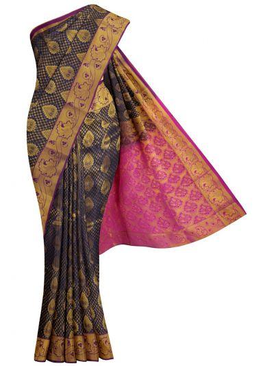 MKD0219109-Bairavi Gift Stonework Art Silk Saree