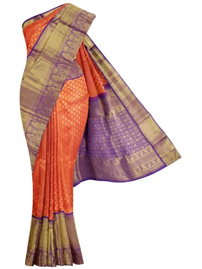 MKD0373252-Vivaha Wedding Pure Kanchipuram Silk Saree