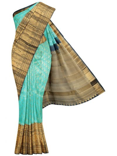 MKB9019379-Vivaha Exclusive Wedding Pure Silk Saree