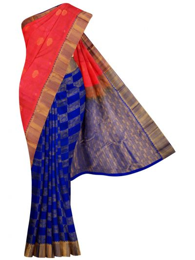 MID5570263-Vipanji Traditional Half and Half Design Silk Saree