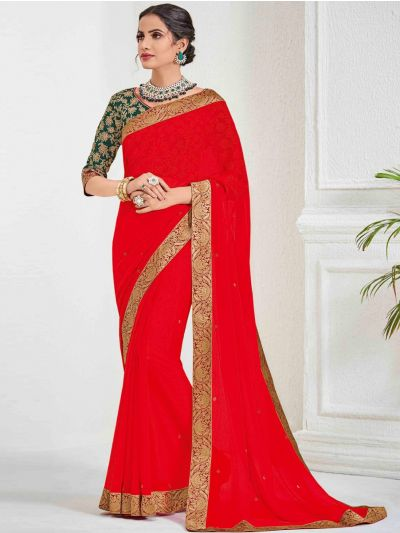 Kathana Fancy Sana Silk Saree With Embroidery Blouse - MFB2772173