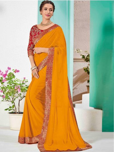 Kathana Fancy Sana Silk Saree With Embroidery Blouse - MFB2772177
