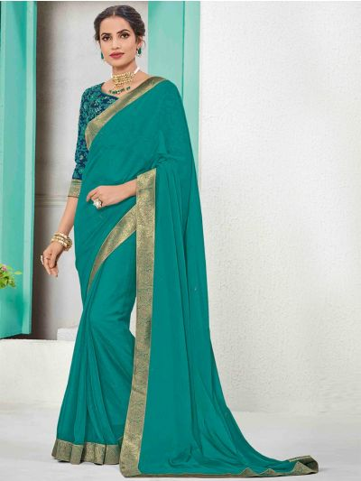 Kathana Fancy Sana Silk Saree With Embroidery Blouse-MFB2772186