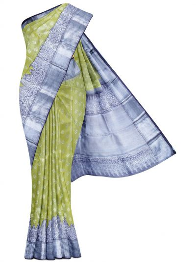 Vivaha Goddess Handloom Pure Kanchipuram Silk Saree - LGC9928801