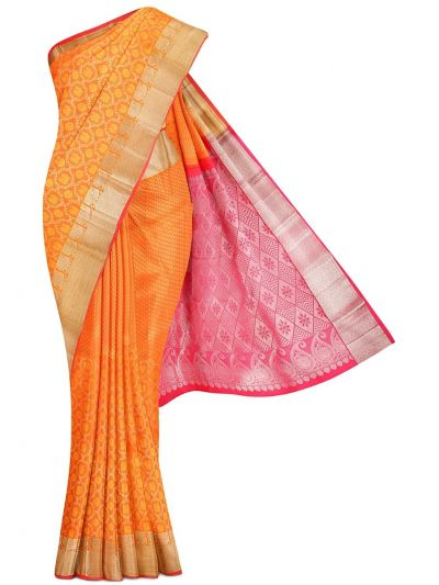 Vivaha Goddess Handloom Pure Kanchipuram Silk Saree - LJD0658975