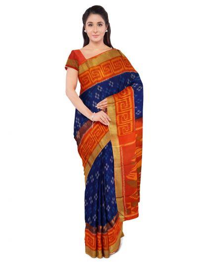 Chamelli Fancy Silk Cotton Saree-LLB6040889