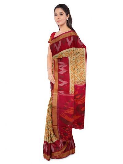 LLB6040891 - Pochampally Silk Cotton Saree