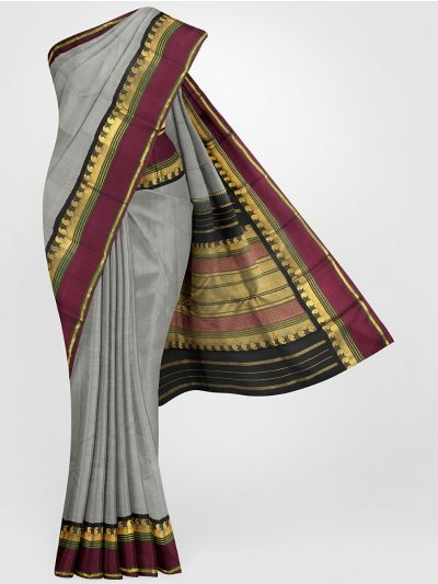 LLB6121264-Vivaha Goddess Pure Kanchipuram Silk Saree