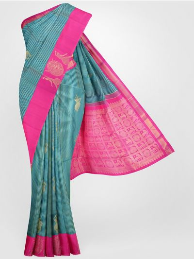 LLC6567411-Vivaha Goddess Pure Kanchipuram Silk Saree