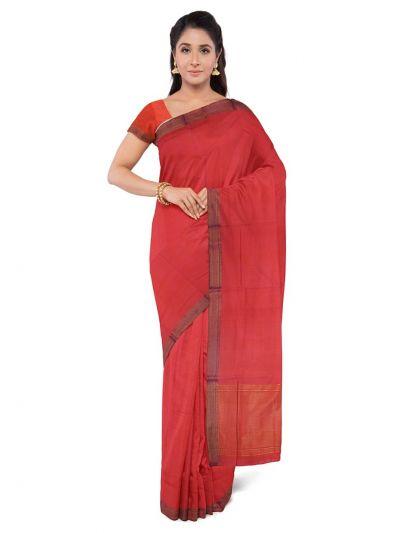 Chamelli Fancy Silk Cotton Saree-MAE381103