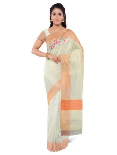 Fancy Kerala Cotton Saree - MBA4746472