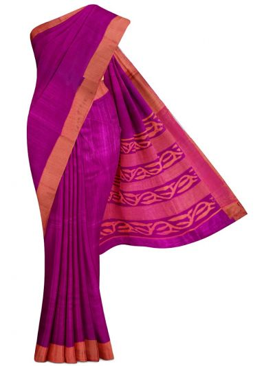 Kathana Exclusive Pure Jute Silk Saree - MBB5590878