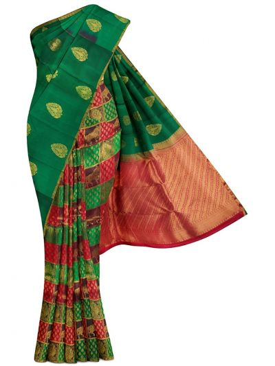 Bairavi Traditional Half & Half Silk Saree - MBB5601764