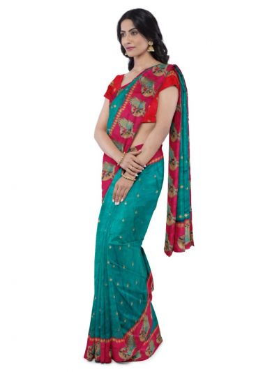 Kathana Fancy Raw Silk Saree - MBC6365860