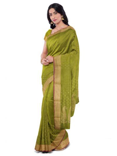 MCA8007383 - Chemalli Kora Silk Cotton Saree