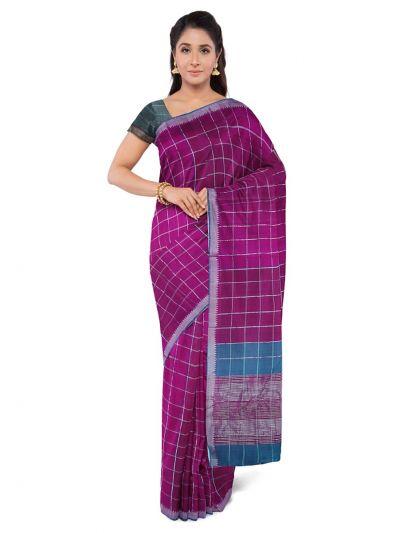 Chamelli Fancy Silk Cotton Saree-MCA8158425