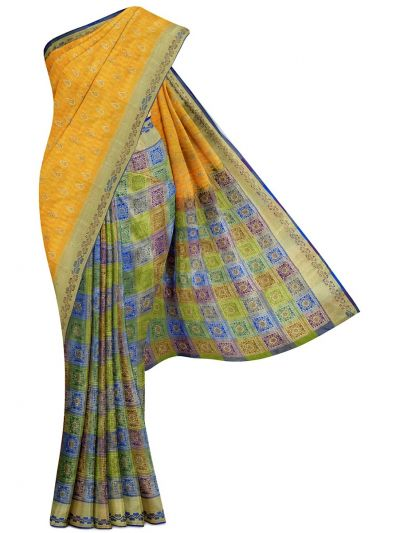 Bairavi Traditional Stone Work Silk Saree - MCC9547301