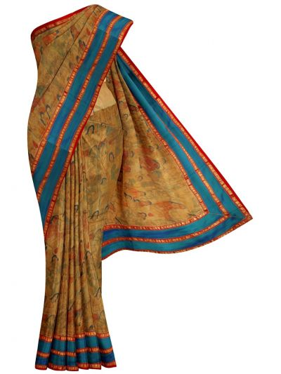 MCD0577824 - Fancy Pure Jute Saree