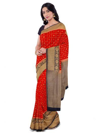 Sahithyam Fancy Silk Saree-MDA0751165