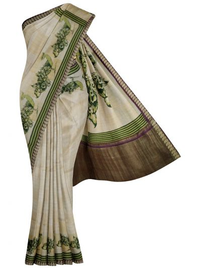 MDC2242254 - Pure Tussar Silk Saree
