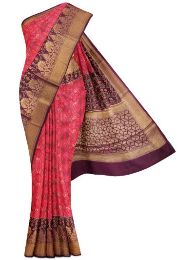 Kyathi Exclusive Munga Tussar Silk Saree - MDD2666807
