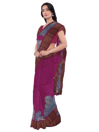 MDD3107631 - Sahithyam Tussar Silk Saree