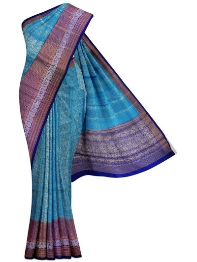 Sahithyam Exclusive Chiniya Soft Silk Saree - MDE3557625
