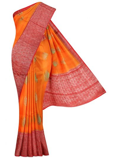 Kyathi Exclusive Dupion Tussar Silk Saree - MDE3557637