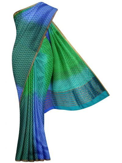 MDE3835266-Dupion Tussar Silk Saree