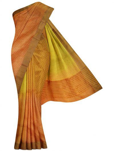 MDE3835269-Dupion Tussar Silk Saree