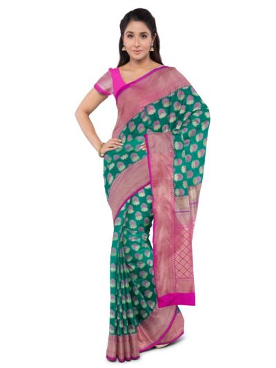 Kyathi Handloom Banarasi Silk Saree