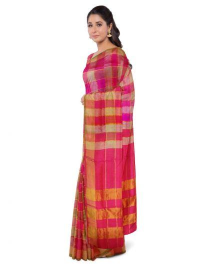 Chamelli Arani Silk Cotton Saree - MEA4512858