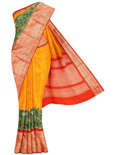 Pochampalli Handloom Pure Ikat Silk Saree - MEB6305421