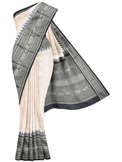 Pochampalli Handloom Pure Ikat Silk Saree - MEB6305423