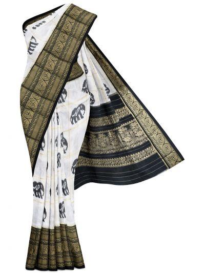Pochampalli Handloom Pure Ikat Silk Saree - MEB6305424
