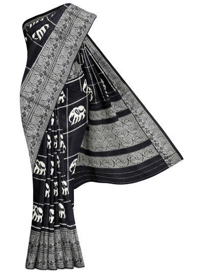 Pochampalli Handloom Pure Ikat Silk Saree - MEB6305425